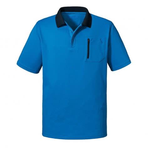 Schöffel Herren Poloshirt Arizona2 22776-8320 48 Directoire Blue | 48
