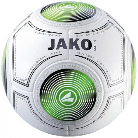 Jako Fussball Trainingsball Match 2324-18 5 weiß/schwarz/grün | 5