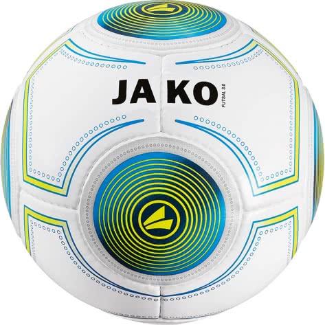 Jako Fussball Ball Futsal 3.0 2338-18 4 weiß/JAKO blau/lime | 4