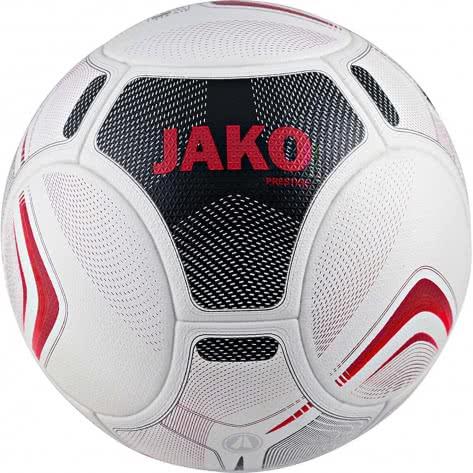 Jako Fussball Spielball Prestige 2344-00 5 weiß/schwarz/rot | 5