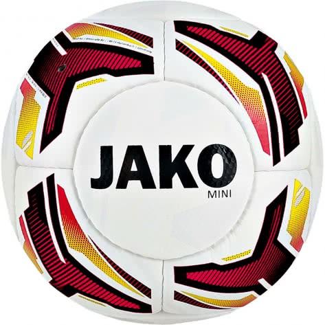 Jako Fussball Miniball Striker 2385-00 1 weiß/schwarz/rot/gelb | 1