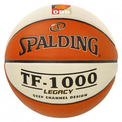 Spalding Basketball DBB TF1000 Legacy 3001504010316 6 Orange/Weiß | 6