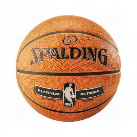 Spalding Basketball NBA Platinum Outdoor Orange Größe: 7