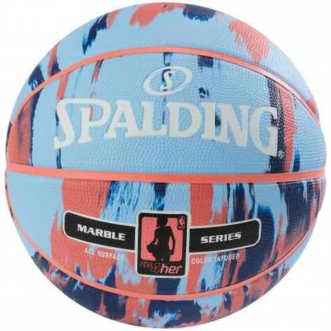 Spalding Damen Basketball NBA Marble 4Her Out 3001550100316 6 hellblau | 6