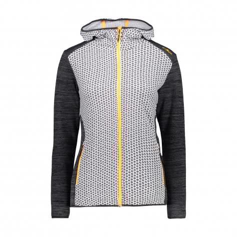 CMP Damen Fleecejacke Woman Jacket Fix Hood 30E9866