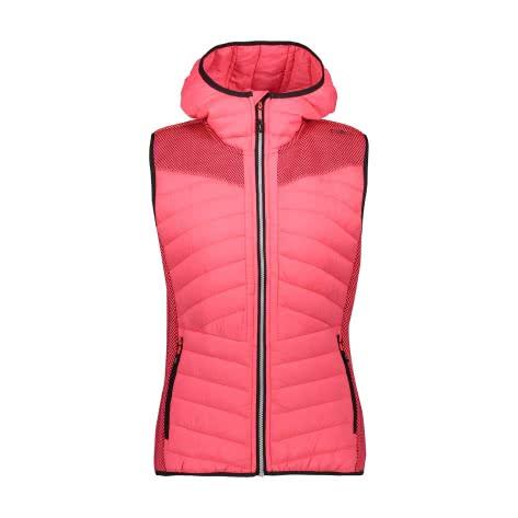 CMP Damen Weste Woman Vest Fix Hood 30H1636
