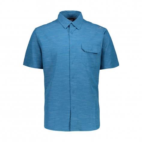 CMP Herren Kurzarm Hemd Man Shirt 30T9977
