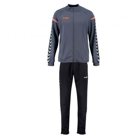 Hummel Herren Trainingsanzug Authentic Charge Poly Suit 33401+37228