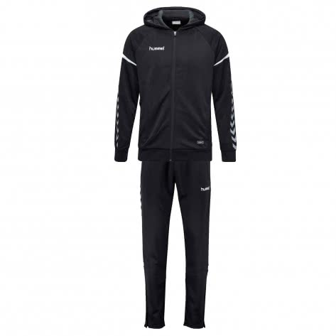 Hummel Herren Trainingsanzug Authentic Charge Track Suit 33416+37228