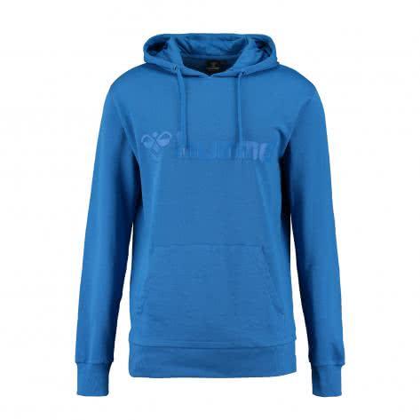 Hummel Herren Sweatshirt Classic Bee Hood 36500-7685 L Daphne Blue | L