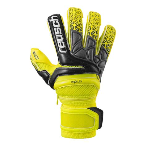 Reusch Herren Torwarthandschuhe Prisma Pro G3 Evolution 3870958-236 8 Yellow/Black/Yellow | 8