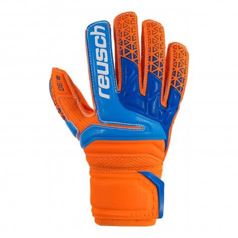 Reusch Kinder Torwarthandschuhe Prisma SG FS Junior 3872810-296 4.5 Orange/Blue/Orange   4.5