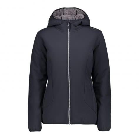 CMP Damen Softshelljacke Woman Jacket Fix Hood 38A2116-U423 44 Antracite | 44
