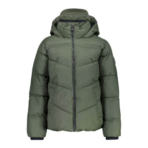 CMP Jungen Jacke Boy Jacket Fix Hood 38K2574-F955 164 Kaki | 164