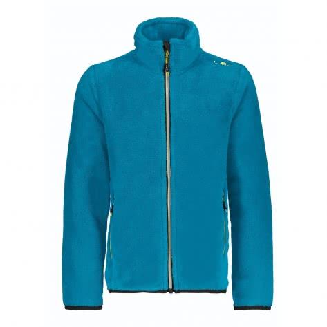 CMP Jungen Fleecejacke Boy Jacket 38P1414 Cyano Größe 104,110,128,140