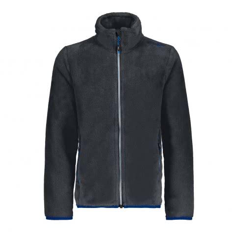 CMP Jungen Fleecejacke Boy Jacket 38P1414 Antracite Größe 116,128,152,164,176