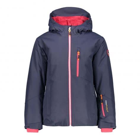 CMP Mädchen Skijacke Girl Jacket Fix Hood 38W0445-U883 98 Asphalt | 98