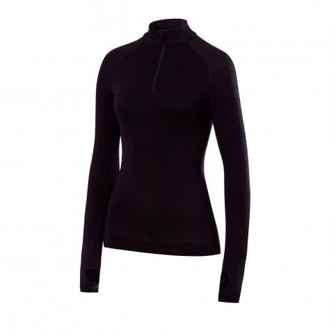 Falke Damen Langarmshirt Warm Zipshirt T 39127
