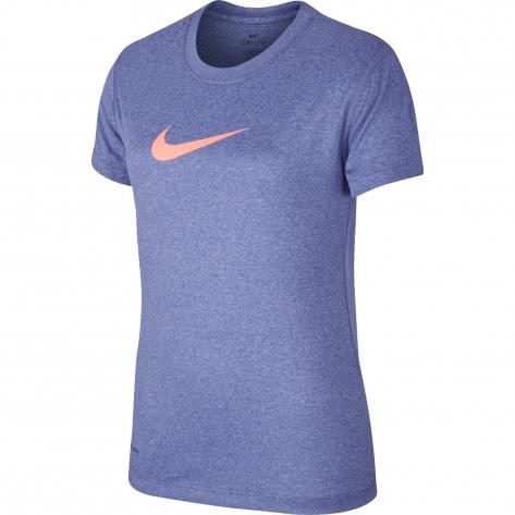 Nike Mädchen Trainingsshirt Legend SS Top Youth 392389 Twilight Pulse Größe 128 140,140 152,158 170