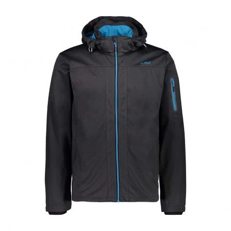 CMP Herren Softshelljacke Man Jacket Zip Hood 39A5027M