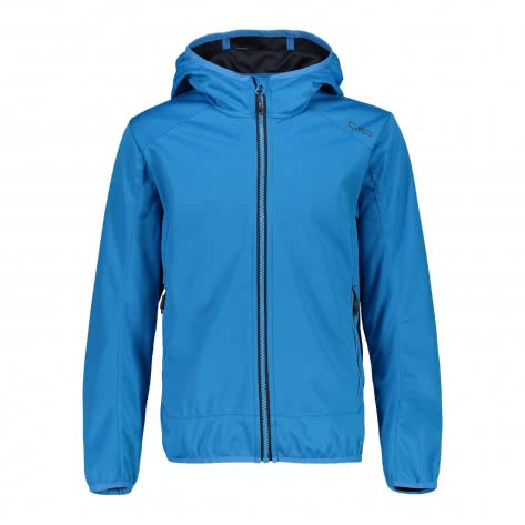 CMP Jungen Softshelljacke Boy Jacket Fix Hood 39A5134 Cyano Größe 110,116,140,152