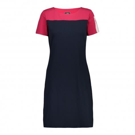 CMP Damen Kleid Woman Dress 39D8246-N950 34 Black Blue | 34