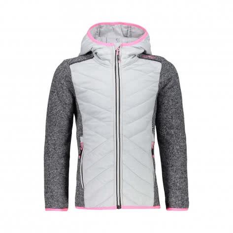 CMP Mädchen Jacke Girl Jacket Fix Hood Hybrid 39H0565