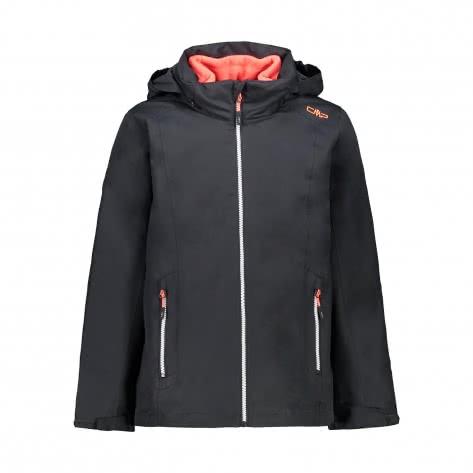 CMP Mädchen Jacke Girl Jacket Zip Hood + Detachble Inn. Jacket 39Z0375D