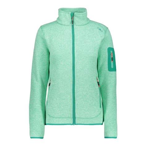 CMP Damen Jacke Knitted Melange Fleece Jacket 3H14746
