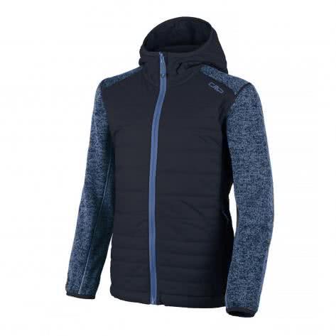 CMP Jungen Jacke Fix Hood Hybrid 3H60574-34AE 176 B.Blue-Jeans | 176