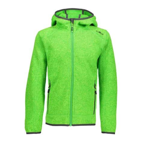 CMP Jungen Fleece Jacke Fix Hood 3H60844 Gecko Menta Größe 140,92