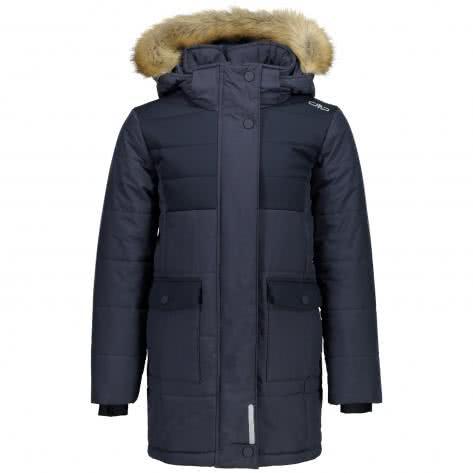 CMP Mädchen Jacke Girl Zip Hood Jacket 3K27775 Black Blue Melange Größe 128