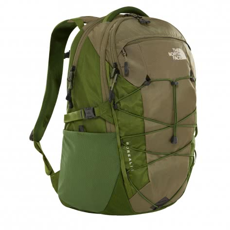 The North Face Rucksack Borealis 3KV3-BP4 FOUR LEAF CLOVR/GARDN GRN | One size