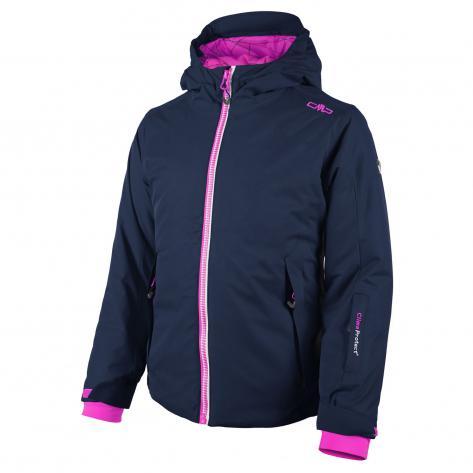 CMP Mädchen Skijacke Twill Fix Hood 3W06365 Nautico Größe 164,98