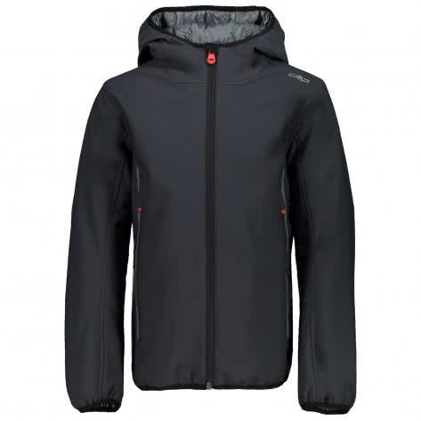 CMP Jungen Softshelljacke Boy Fix Hood Jacket 3Z21574 Antracite Größe 116,128,140,152,164,176