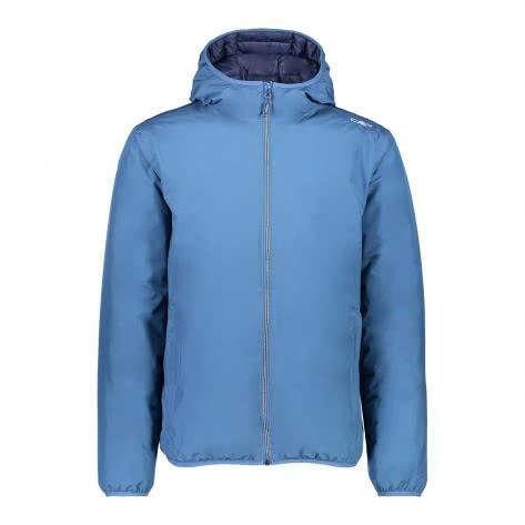 CMP Herren Jacke Fix Hood Jacket 3Z23677-16BL 46 Maiolica-Black Blue | 46
