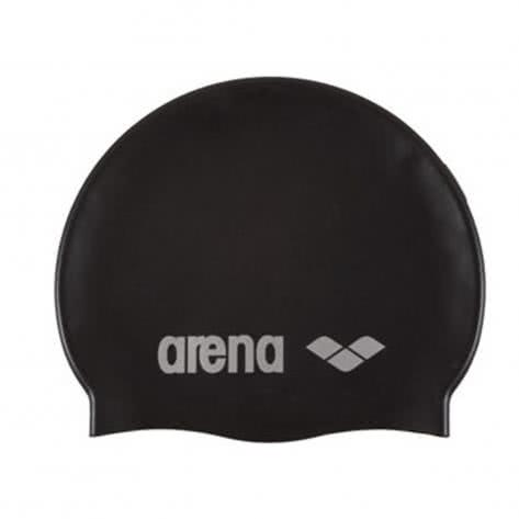Arena Badekappe Classic Silicone 91662-55 Black/Silver | One size