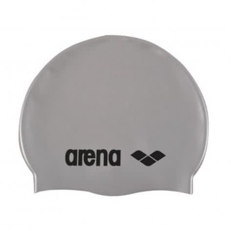 Arena Badekappe Classic Silicone 91662-51 Silver/Black | One size