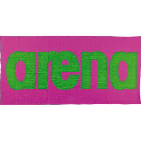 Arena Handtuch Logo Towel 51281 FRESIA_ROSE,LEAF_GRE Größe: One size