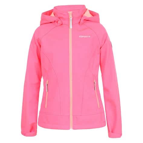 Icepeak Mädchen Softshelljacke Triine Jr 51802 Hot Pink Größe 128,140,152,164,176