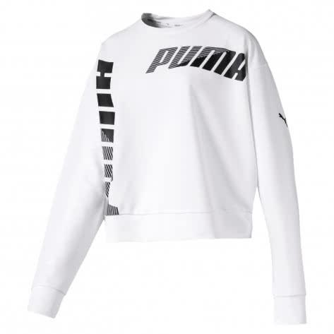 Puma Damen Pullover MODERN SPORT Crew Sweat 580078-02 L Puma White | L