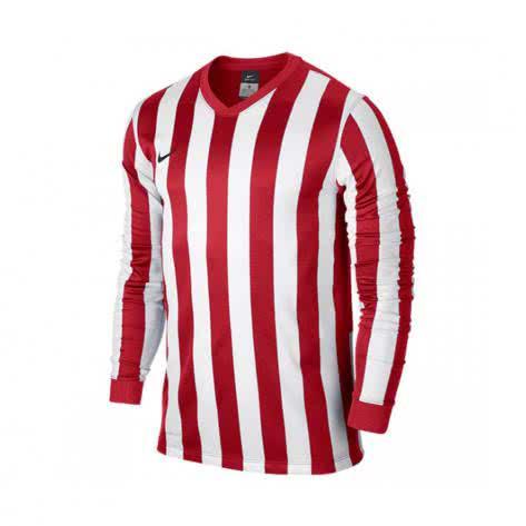 Nike Langarm Trikot Striped Division 588434 588412 University Red White Größe 128 137,137 147,158 170