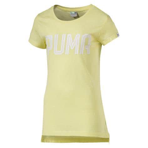 Puma Mädchen T-Shirt Sportstyle Tee G 590852 Elfin Yellow Größe 140,152,164,176