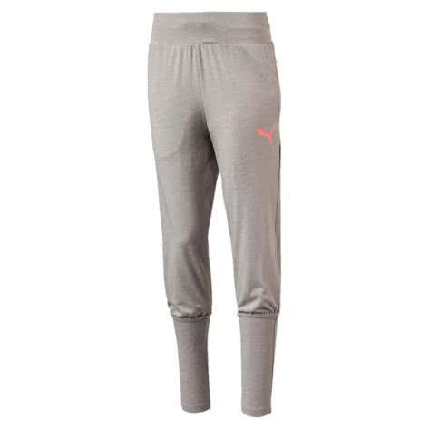 Puma Mädchen Trainingshose Softsport Jersey Pants 592659 Light Gray Heather Größe 128,140,152,164,176