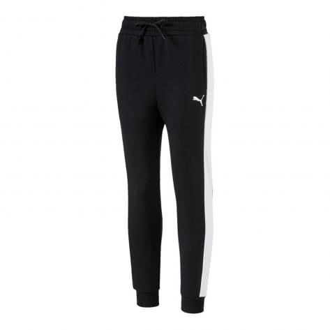 Puma Mädchen Trainingshose Style Sweat Pants 594978 Cotton Black Größe 140