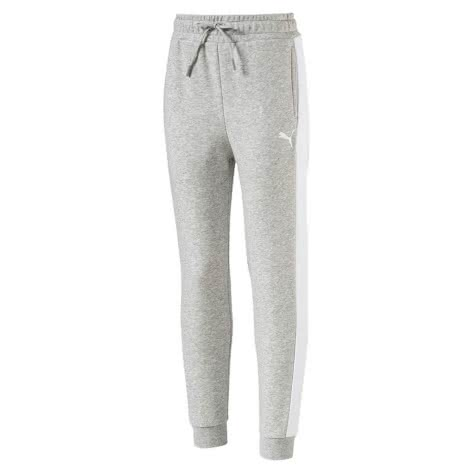 Puma Mädchen Trainingshose Style Sweat Pants 594978 Light Gray Heather Größe 128,140,152,164,176