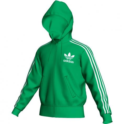Adidas Originals Adidas Herren Hooded Flock Track Top E1457-6-7/P05324 Grün