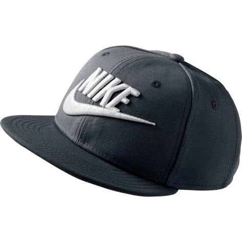 Nike Kinder Kappe True Cap Futura 614590 Black Black Black White Größe One size