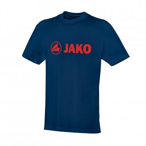 Jako Kinder T-Shirt Promo 6163 Nightblue/Flame Größe: 128,140,152,164