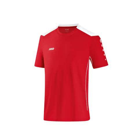 Jako T-Shirt Cup 6183 Rot Weiß Größe 128,140,152,164,M,S,XL,XXL,XXXL
